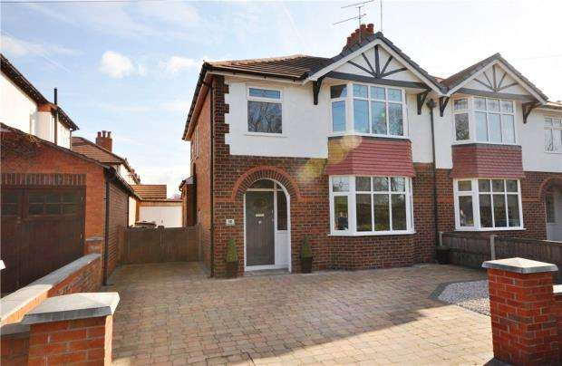 3 Bedrooms Semi Detached House for sale in Elmwood Avenue, Hoole, Chester