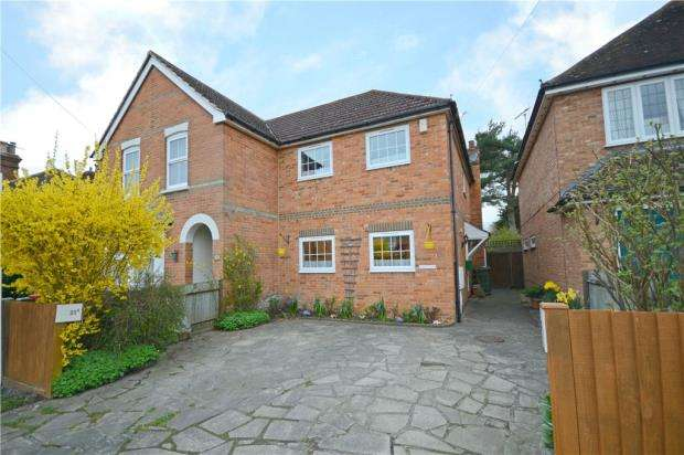 3 Bedrooms Semi Detached House for sale in The Broadway, Sandhurst, Berkshire