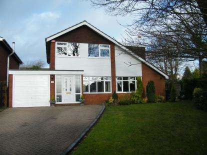 4 Bedrooms Detached House for sale in Gorstey Lea, Burntwood