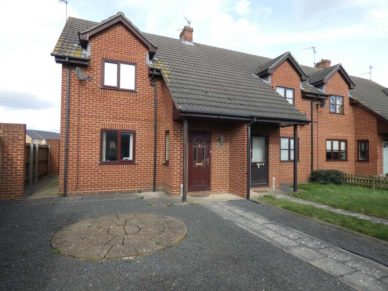 2 Bedrooms Semi Detached House for sale in St. Johns Road, Spalding, Lincolnshire, PE11