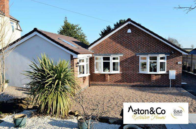 4 Bedrooms Detached Bungalow for sale in Wysall Lane, Rempstone Loughborough