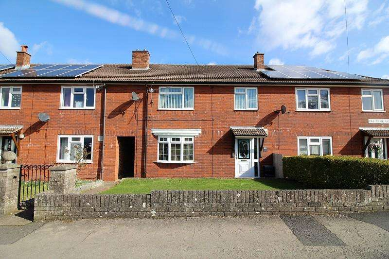 3 Bedrooms Terraced House for sale in Caemawr Avenue, Caldicot