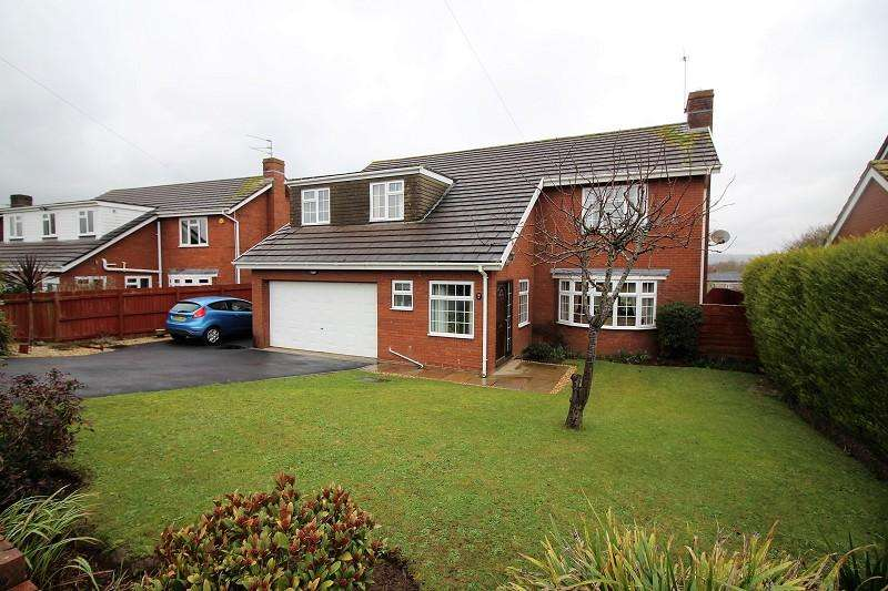 5 Bedrooms Detached House for sale in Wentwood View, Caldicot