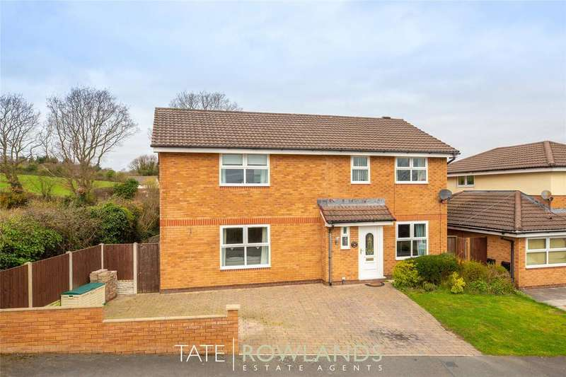 4 Bedrooms Detached House for sale in Greenbank Drive, Flint, Flintshire, CH6