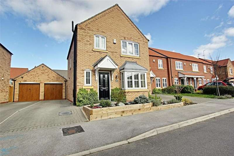 3 Bedrooms Detached House for sale in Bowland Way, Kingswood, Hull, East Yorkshire, HU7