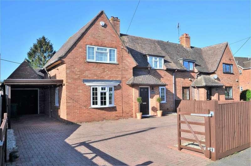 2 Bedrooms Semi Detached House for sale in Heath Road, Bradfield Southend, Reading, Berkshire, RG7