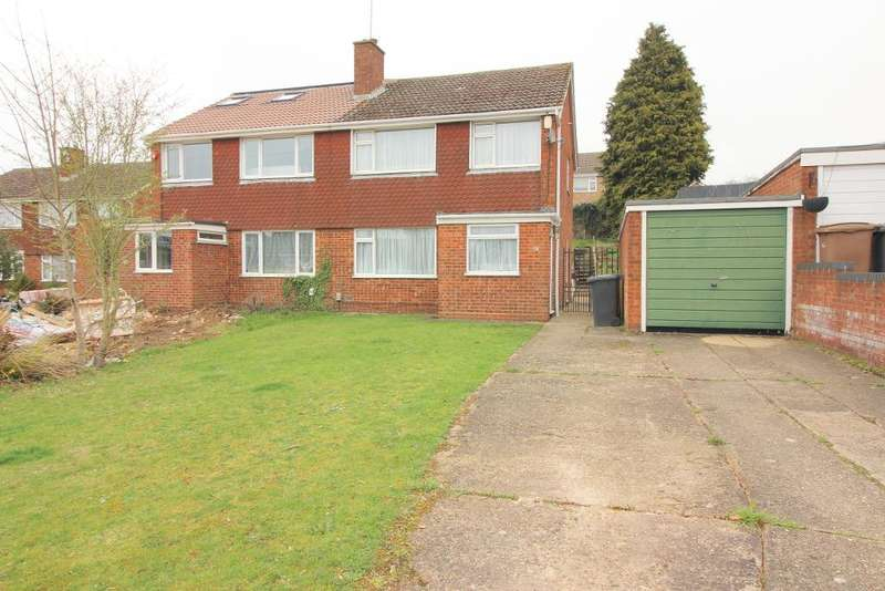 3 Bedrooms Semi Detached House for sale in Handcross Road, Luton, Bedfordshire, LU2 8JF