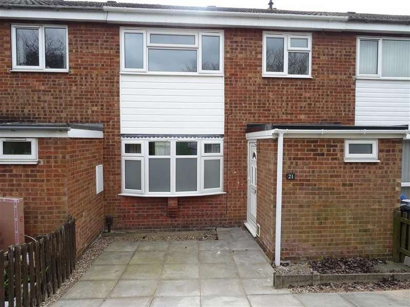 3 Bedrooms Town House for sale in Coniston Close, Earl Shilton