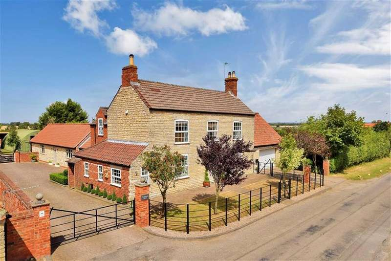 5 Bedrooms Detached House for sale in Sudbrooke Lane, Nettleham, Lincoln, Lincolnshire