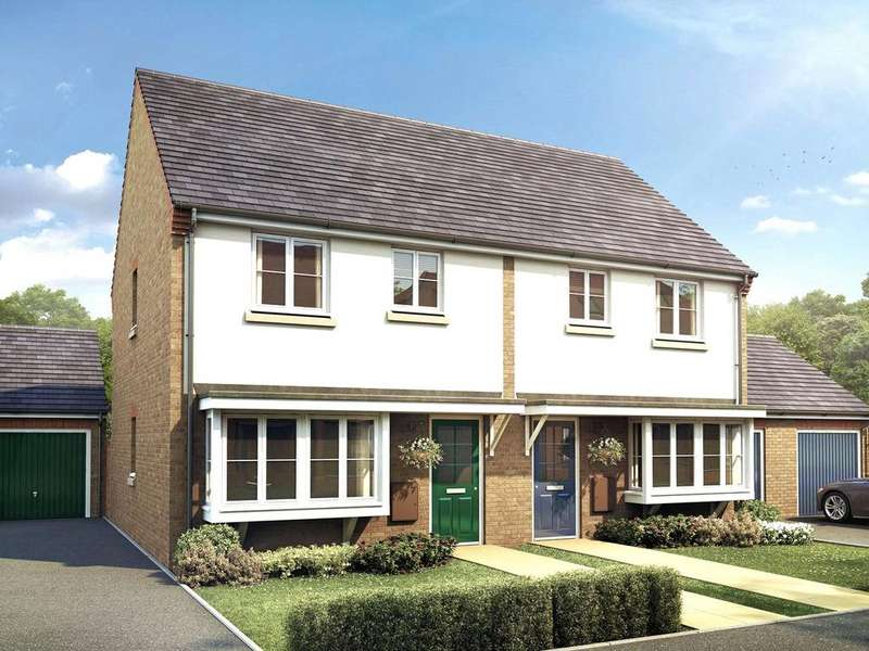 3 Bedrooms Semi Detached House for sale in Parker Way, Nettleham Chase, LN2