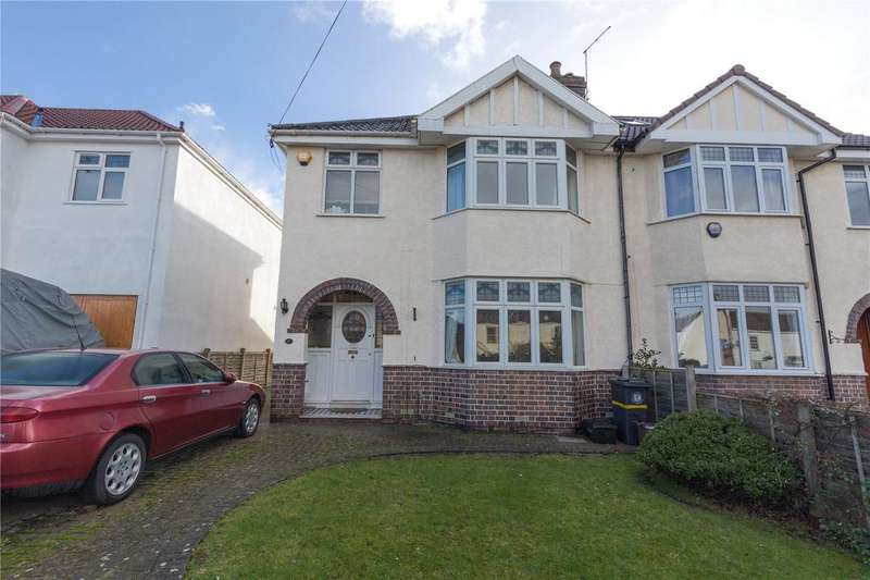 3 Bedrooms Semi Detached House for sale in Stoke Lane, Westbury-on-Trym, Bristol, BS9