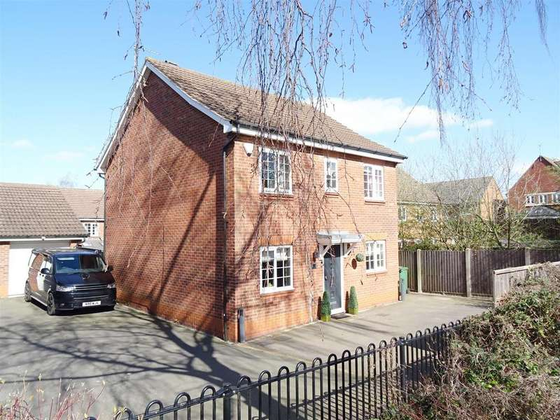 4 Bedrooms House for sale in Abbey Close, Shepshed, Leicestershire