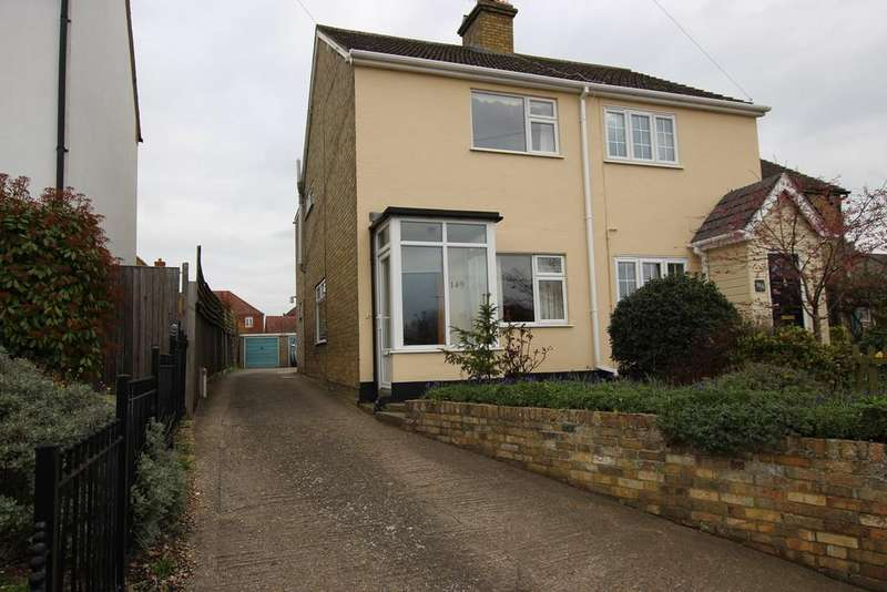 2 Bedrooms Semi Detached House for sale in Church Street, Langford, Biggleswade, SG18
