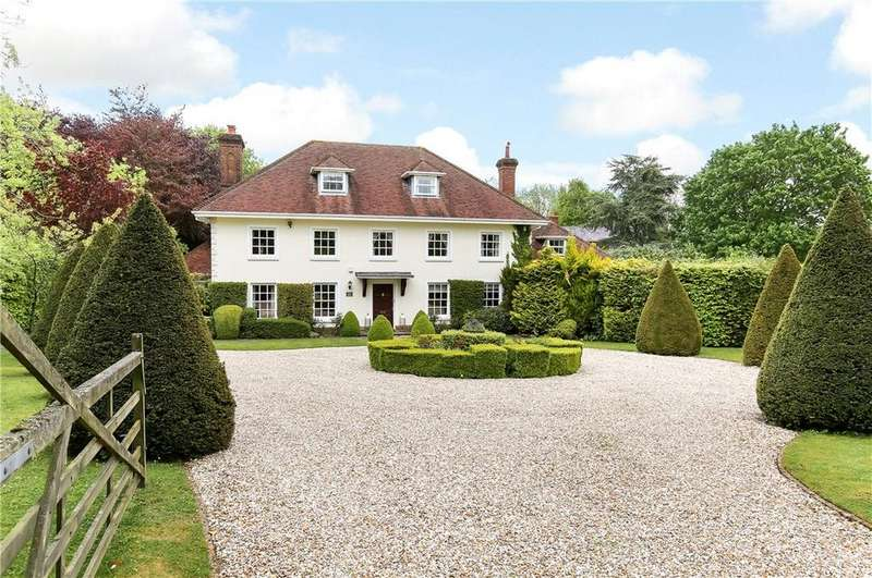 6 Bedrooms Detached House for sale in Enmill Lane, Pitt, Winchester, Hampshire, SO22