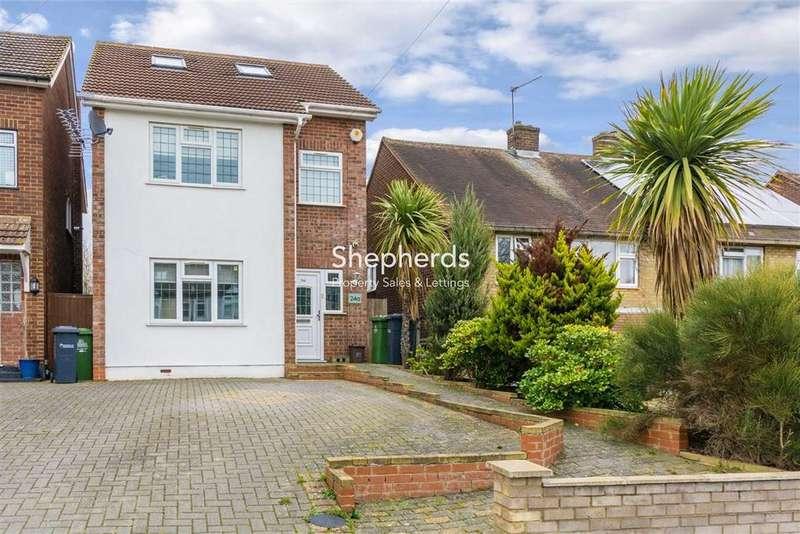 3 Bedrooms Detached House for sale in Old Essex Road, Hoddesdon, Hertfordshire, EN11