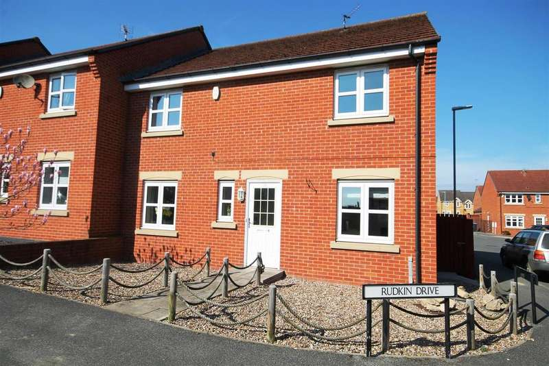 4 Bedrooms End Of Terrace House for sale in Rudkin Drive, Crook