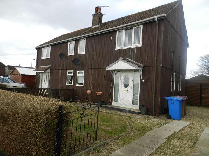 3 Bedrooms Semi Detached House for sale in Woodlands Avenue, Irvine KA12
