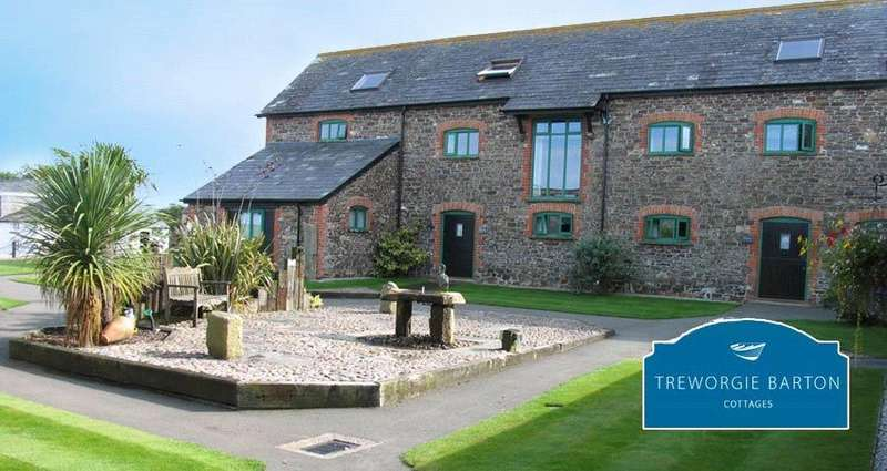5 Bedrooms Detached House for sale in Treworgie Barton, St. Gennys, Bude, Cornwall, EX23