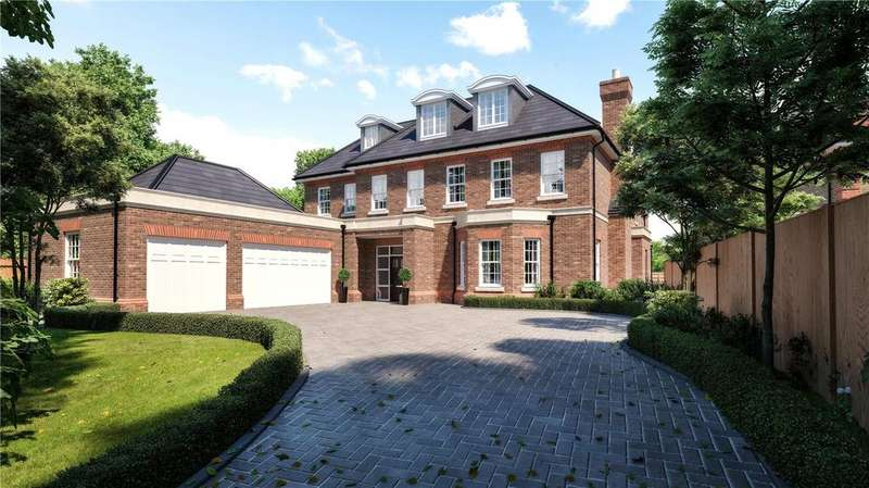 6 Bedrooms Detached House for sale in Eaton Park Road, Cobham, Surrey, KT11