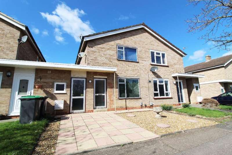 2 Bedrooms Semi Detached House for sale in Waveney Avenue, Brickhill MK41