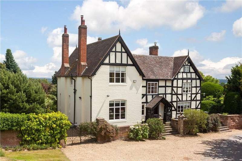 6 Bedrooms Detached House for sale in Lineholt Lane, Ombersley, Droitwich, Worcestershire, WR9