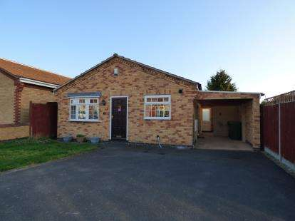 2 Bedrooms Bungalow for sale in Griffin Close, Thurmaston, Leicester, Leicestershire