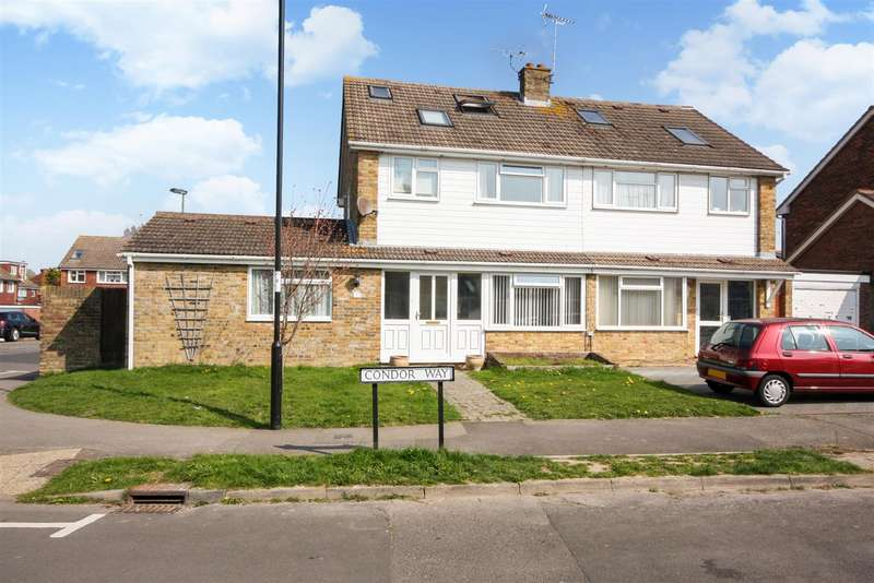 5 Bedrooms Semi Detached House for sale in Condor Way, Burgess Hill