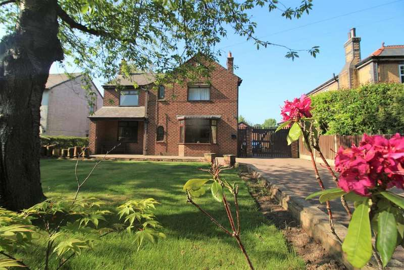 4 Bedrooms Detached House for sale in Church Lane, Great Sutton, Cheshire, CH66 4RF