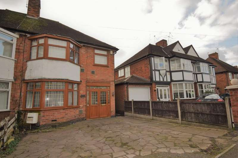 4 Bedrooms Semi Detached House for sale in Scraptoft Lane, Humberstone, Leicester