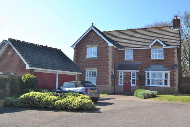 4 Bedrooms Detached House for sale in Banner Way, Stone Cross, Pevensey