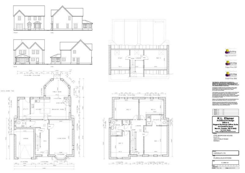 6 Bedrooms Detached House for sale in Westfield Road, March