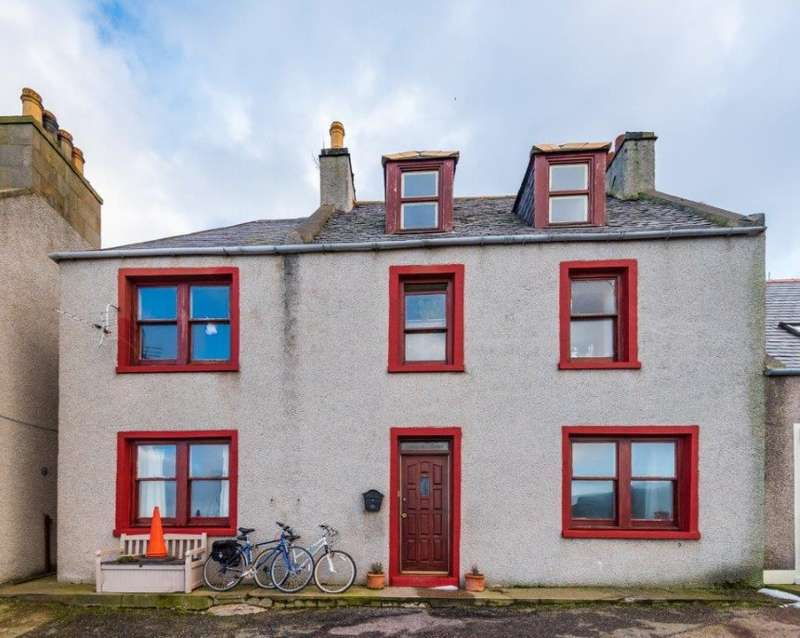 3 Bedrooms Semi Detached House for sale in 156, High Street, Gardenstown, Banff, Aberdeenshire