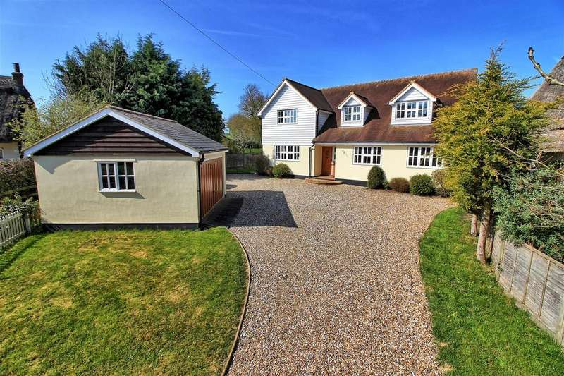 4 Bedrooms Detached House for sale in SANDON, BUNTINGFORD- CHAIN FREE