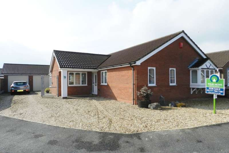 3 Bedrooms Detached Bungalow for sale in Tennyson Close, Sandilands, Sutton-On-Sea, LN12