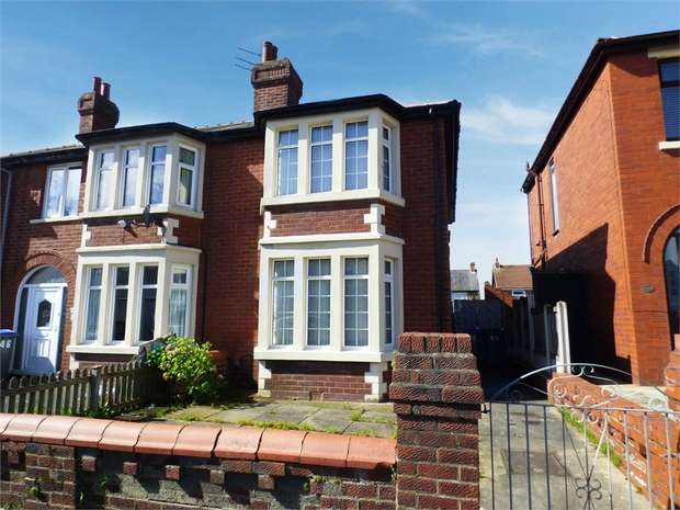 3 Bedrooms Semi Detached House for sale in Ascot Road, Blackpool, Lancashire