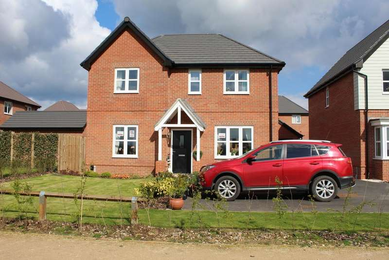 4 Bedrooms Detached House for sale in Isabella drive, Donnington le Heath