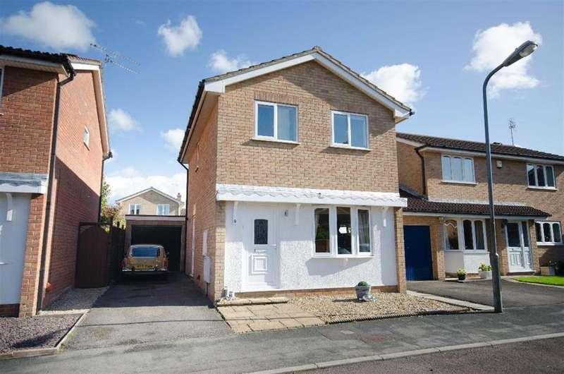 3 Bedrooms Detached House for sale in Bridges Drive, Downend, Bristol, BS16 2UB