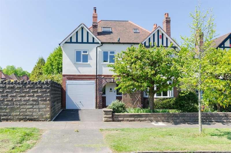 6 Bedrooms Detached House for sale in Ellesboro Road, Harborne, Birmingham, B17 8PT