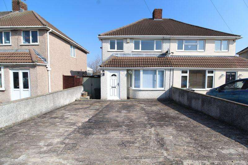 3 Bedrooms Semi Detached House for sale in Pretoria Road, Patchway