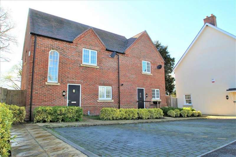 2 Bedrooms Semi Detached House for sale in Maidas Way, Aldermaston, RG7