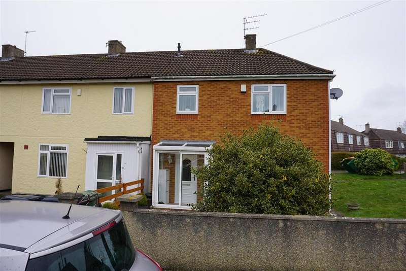3 Bedrooms End Of Terrace House for sale in Capgrave Close, Broomhill, Bristol