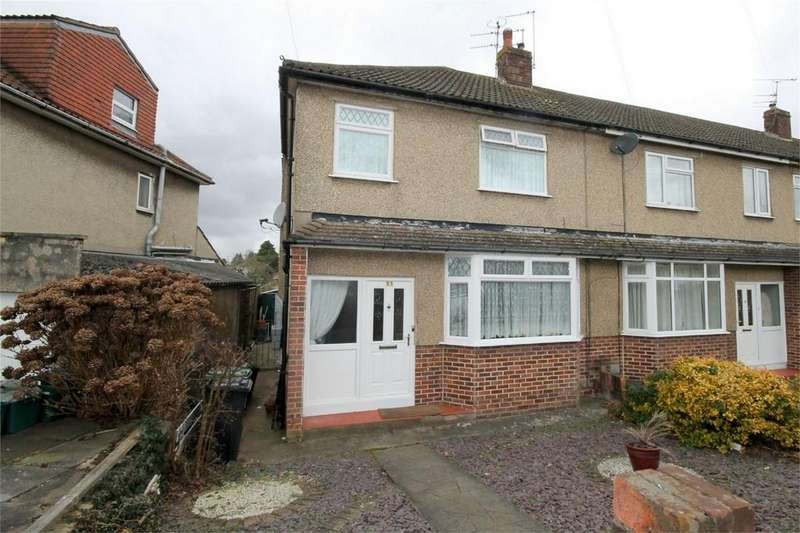 3 Bedrooms End Of Terrace House for sale in Fouracre Road, Downend, Bristol