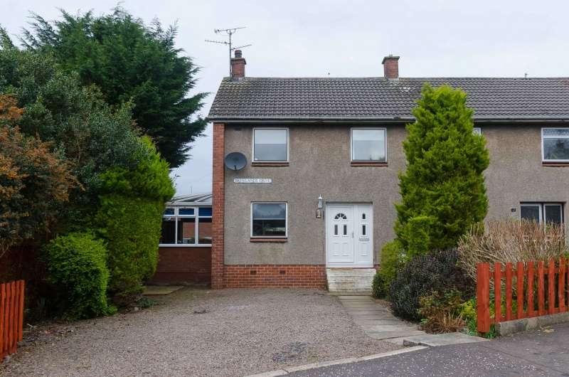 3 Bedrooms Semi-detached Villa House for sale in Brewlands Drive, Symington, South Ayrshire, KA1 5RB
