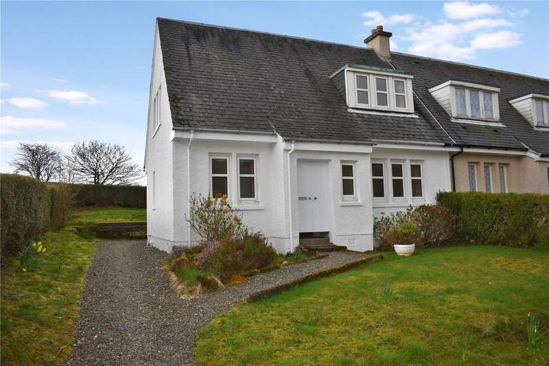 3 Bedrooms End Of Terrace House for sale in 12 Glenview, Dalmally, Argyll and Bute, PA33