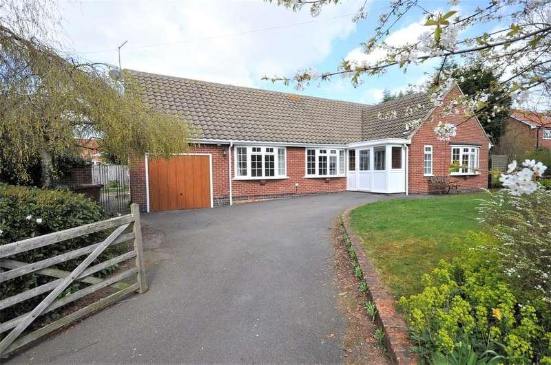 3 Bedrooms Bungalow for sale in Burden Lane, Harby, Melton Mowbray
