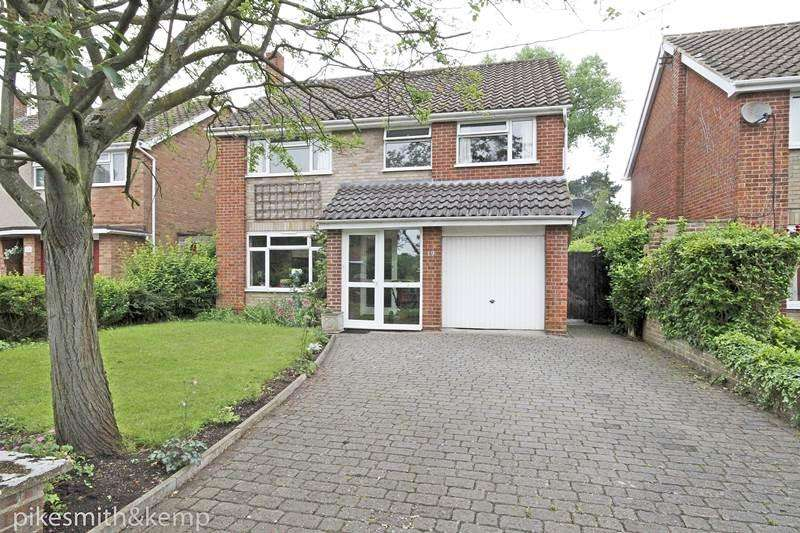 4 Bedrooms Detached House for sale in Sherbourne Drive, MAIDENHEAD, SL6
