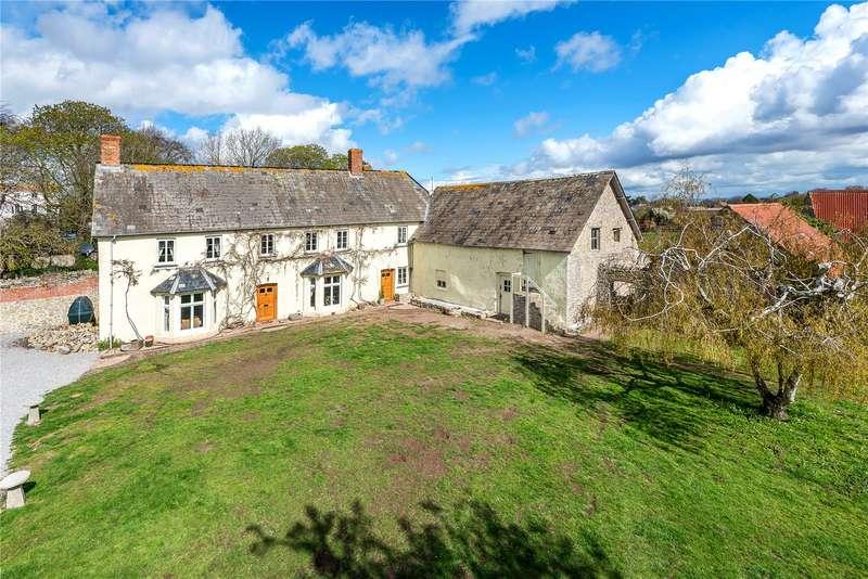 5 Bedrooms Detached House for sale in Shurton, Stogursey, Bridgwater, Somerset, TA5