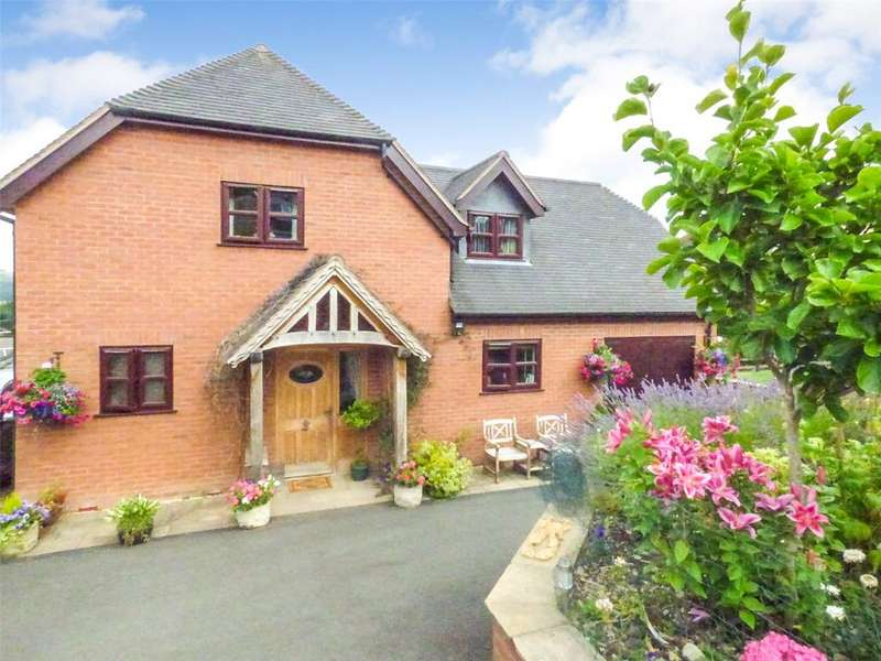 3 Bedrooms Detached House for sale in Presteigne Road, Knighton, Powys