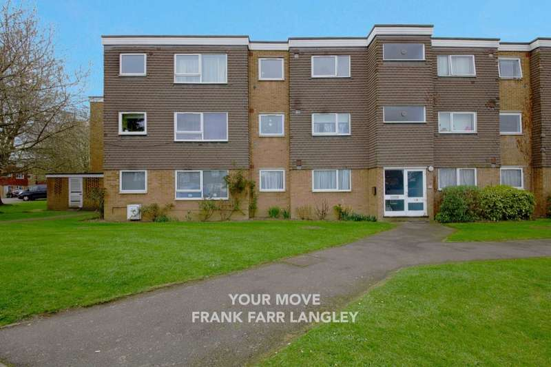2 Bedrooms Flat for sale in Tithe Court, Slough, SL3