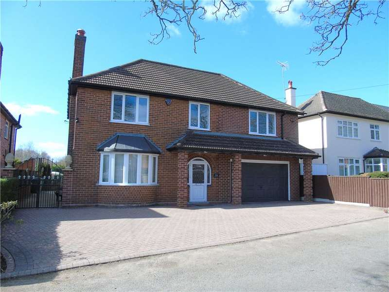 5 Bedrooms Detached House for sale in Hassock Lane North, Shipley, Heanor, Derbyshire, DE75